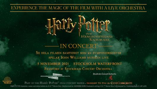 Harry Potter | Stockholm Waterfront Congress Centre